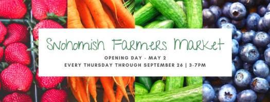Snohomish Farmer's Market 2019